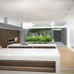 Sonoma: Cocinas de estilo  por RRA Arquitectura