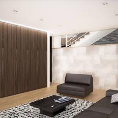 Sonoma: Salas de entretenimiento de estilo  por RRA Arquitectura