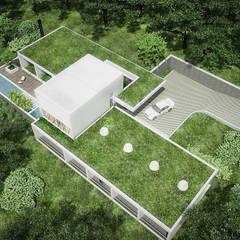 Sonoma: Jardines de estilo  por RRA Arquitectura