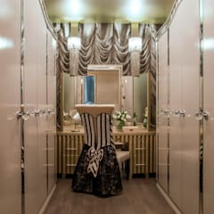 Powder Room by Design Intervention:  Dressing room by Design Intervention