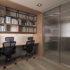 Ruang Kerja oleh 形構設計 Morpho-Design, Modern