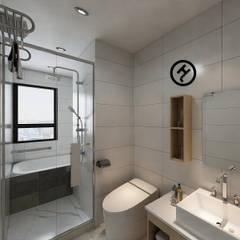 操作實例-使用智能測量系統完成北歐風小宅設計案:  浴室 by 知森數位開發有限公司