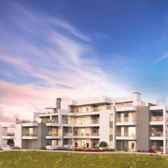 Edifício Horizonte: Condomínios  por Marvic Projectos e Contrução Civil