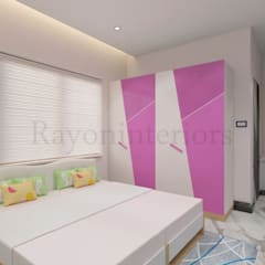 NSK:  Girls Bedroom by RAYON INTERIORS