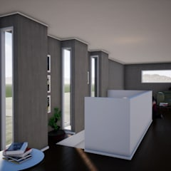 Wooden windows by BIM Urbano, Minimalist Glass
