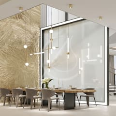 Interior Design Of Modern Luxury Residence: Dining Room By Comelite  Architecture, Structure And Interior