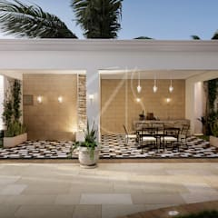 فناء أمامي تنفيذ Comelite Architecture, Structure and Interior Design