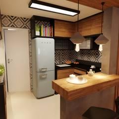 Small-kitchens by Gelker Ribeiro Arquitetura | Arquiteto Rio de Janeiro
