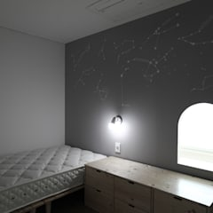 Kinderkamer door 홍예디자인