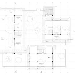 Proyecto laboratorio universidad del Univalle : Escaleras de estilo  por JV RVT, Clásico Ladrillos