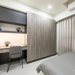 JIAN House:  青少年房 by 元作空間設計