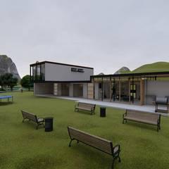 Proyecto de levantamiento : Casas multifamiliares de estilo  por JV RVT