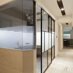 WANG House:  拉門 by 元作空間設計
