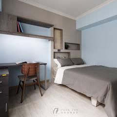 Teen bedroom by 元作空間設計