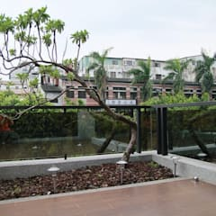 Zen garden by 勻境設計 Unispace Designs