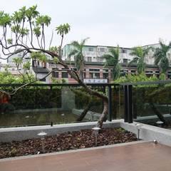 Jardines zen de estilo  por 勻境設計 Unispace Designs
