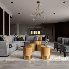 :  غرفة المعيشة تنفيذ FN Design