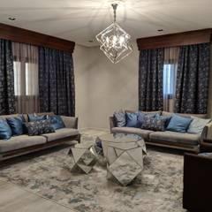 :  غرفة المعيشة تنفيذ FN Design, حداثي