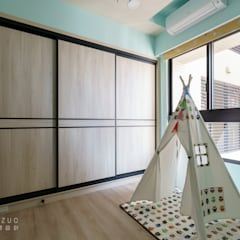 元作空間設計의  아기 방, 모던