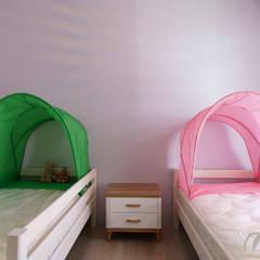 CHEN House‧擁樂:  女孩房 by 元作空間設計