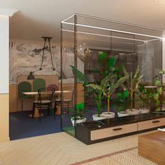 Salón 3: Salones de estilo  de NAROAN