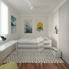 Teen bedroom by NRN diseño de interiores
