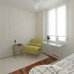 Dormitorio juvenil: Habitaciones juveniles de estilo  de NRN diseño de interiores