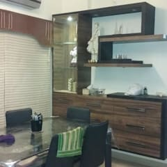 Residential Interiors in indore:  Dining room by Jamali interiors