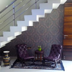 Stairs by Jamali interiors, Asian