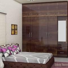 Kleine slaapkamer door ECLECTIC INTERIORS AND SERVICES