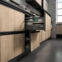 Cucina modulo 01: Cucina in stile  di nuovimondi di Flli Unia snc