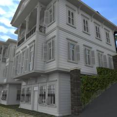 Asya Yapı İçmimarlık의  목조 주택