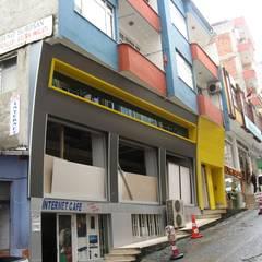 Asya Yapı İçmimarlık – Mehmet bey mağaza tasarımı:  tarz Ofisler ve Mağazalar
