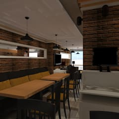 Asya Yapı İçmimarlık – Emre bey Cafe:  tarz Yeme & İçme
