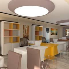 Asya Yapı İçmimarlık – Horon inşaat ofis:  tarz Ofisler ve Mağazalar
