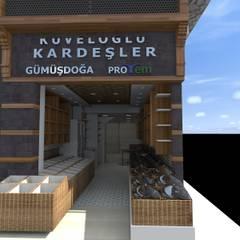 Asya Yapı İçmimarlık – Mehmet bey işyeri:  tarz Dükkânlar