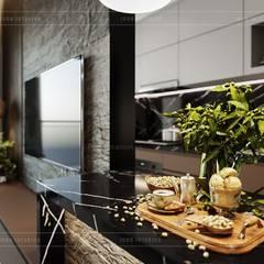 Thiết kế nội thất căn hộ Sunrise Cityview - Phong cách hiện đại sang trọng:  Nhà bếp by ICON INTERIOR