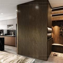 Thiết kế nội thất căn hộ Sunrise Cityview - Phong cách hiện đại sang trọng:  Cửa ra vào by ICON INTERIOR