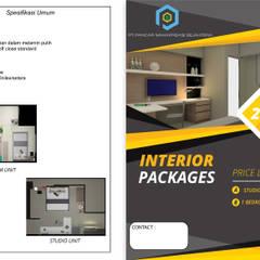 Interior Studio Bandara City Apartment :  oleh PT. PANCAR KREASI ABADI,
