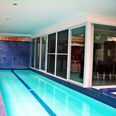 Bel Air Residence:  Pool by Architect Manila