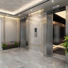 adt proje mimarlık dan. ltd. şti – beyzade konağı:  tarz Koridor ve Hol