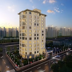 Casas multifamiliares de estilo  por adt proje mimarlık dan. ltd. şti