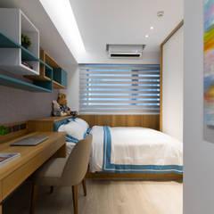 線.構:  嬰兒房/兒童房 by 築川設計