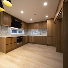 Centinnial _ 상가주택: 건축사사무소 이가소 / igaso architects & planners 의  주방,모던