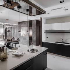 質 ‧ 域:  廚房 by 築川設計,