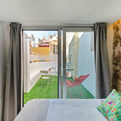 Small bedroom by pxq arquitectos