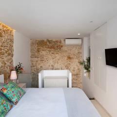 pxq arquitectos의  작은 침실