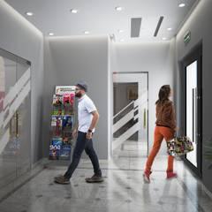 ЖК «Квартал Федерация»: Коммерческие помещения в . Автор – Novik Design