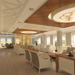 Edificios de Oficinas de estilo  por Asya Yapı İçmimarlık