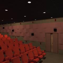 Asya Yapı İçmimarlık – Halit bey sinema salonu:  tarz Etkinlik merkezleri